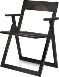 Fotel składany Aviva czarny