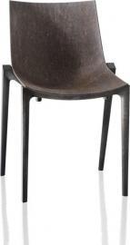 Krzesło Zartan Eco szare siedzisko