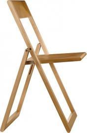 Krzesło składane Aviva naturalny buk