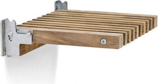 Krzesełko składane Cutter drewno tekowe