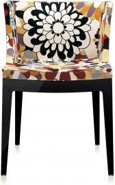 Krzesło Mademoiselle a la mode czarne Missoni vevey brąz