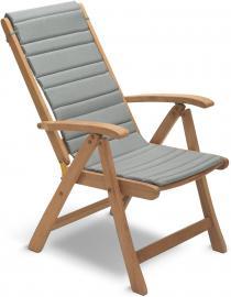 Poduszka na krzesło Columbus szara
