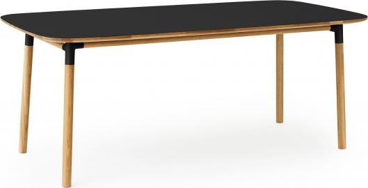 Stół Form 95x200 cm czarny
