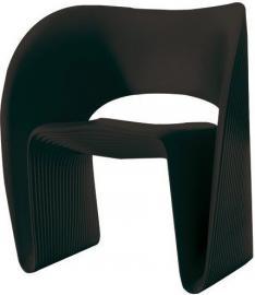 Fotel Raviolo czarny