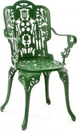 Fotel ogrodowy Industry zielony