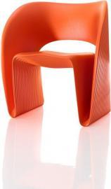 Fotel Raviolo pomarańczowy