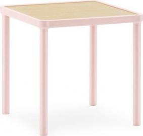 Stolik kawowy Case S różowy