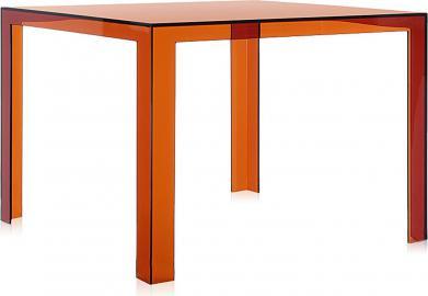 Stół Invisible bursztynowy