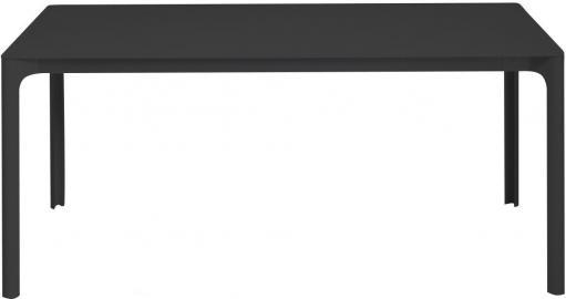 Stół rozkładany Zoom czarny 70 x 120 cm