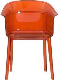 Krzesło Papyrus pomarańczowe