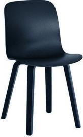 Krzesło Substance jesion barwiony czarne