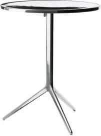 Stół składany Central okrągły aluminium polerowane