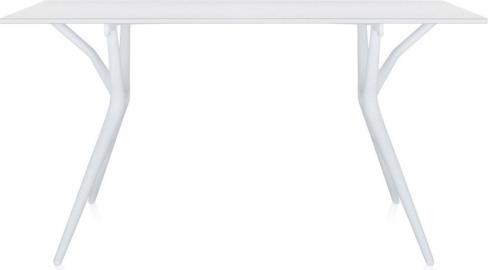 Stół Spoon 160 cm biały blat biała rama