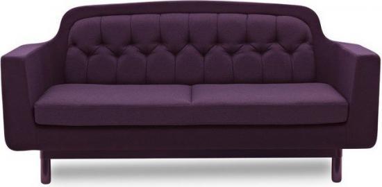 Sofa Onkel podwójna fioletowa
