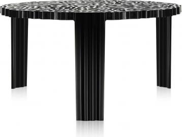 Stolik T-Table 28 cm czarny nieprzezroczysty