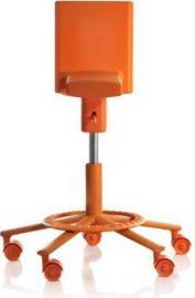 Krzesło obrotowe 360 pomarańczowe