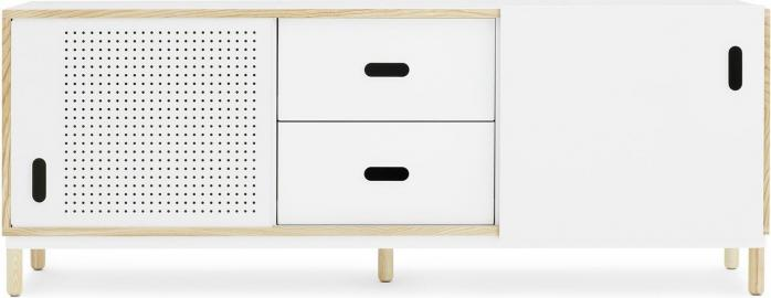 Szafka Kabino z szufladami biała