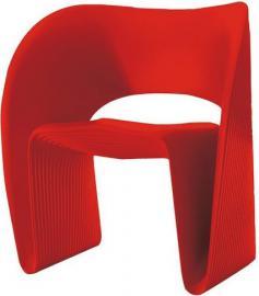 Fotel Raviolo czerwony