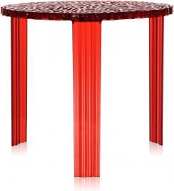 Stolik T-Table 44 cm czerwony