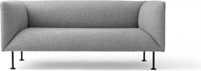 Sofa dwuosobowa Godot Grey Melange