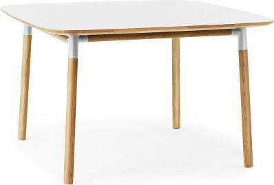 Stół Form 120x120 cm biały