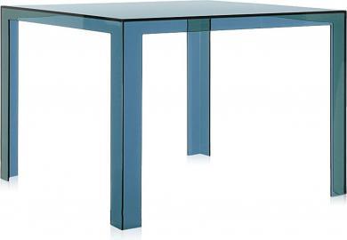 Stół Invisible zielononiebieski