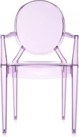 Krzesło Lou Lou Ghost fioletowe