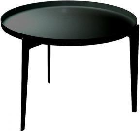 Stolik kawowy Illusion czarny mały