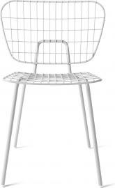 Krzesło WM String Dining Chair białe