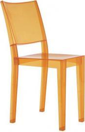 Krzesło La Marie jasnopomarańczowe