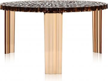 Stolik T-Table 28 cm bursztynowy