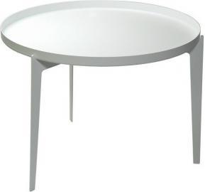 Stolik kawowy Illusion biały duży