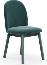 Krzesło Ace welur morskie