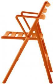 Fotel Air składany pomarańczowy