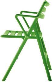 Fotel Air składany zielony