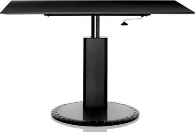 Stół 360 prostokątny czarny