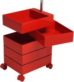 Szafka 360 5 szuflad czerwona