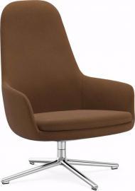 Fotel wysoki Era obrotowy rama aluminiowa materiał Fame