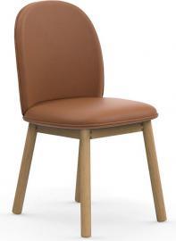Krzesło Ace skóra brandy