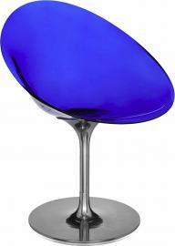 Krzesło Eros kobaltowe
