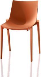 Krzesło Zartan pomarańczowe