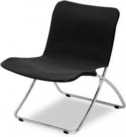 Krzesło plażowe Lise czarne