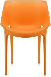 Krzesło Dr. Yes pomarańczowe