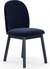 Krzesło Ace welur granatowe