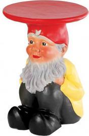Stołek-stolik Gnomes Napoleon kolorowy