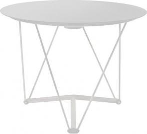 Stół Lem rama biała blat biały