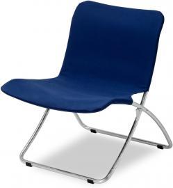 Krzesło plażowe Lise granatowe