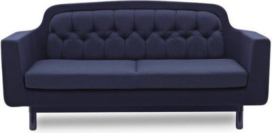 Sofa Onkel podwójna niebieska