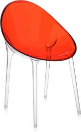 Krzesło Mr. Impossible czerwonopomarańczowe