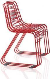 Krzesło Magis Flux czerwone